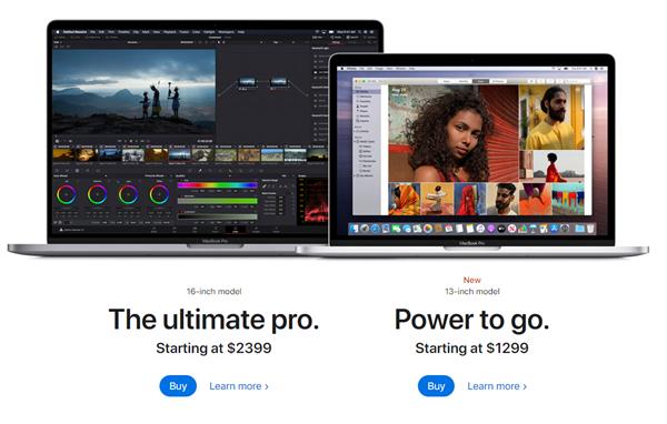 13寸MacBook Pro更新到来:升级妙控键盘、十代酷睿
