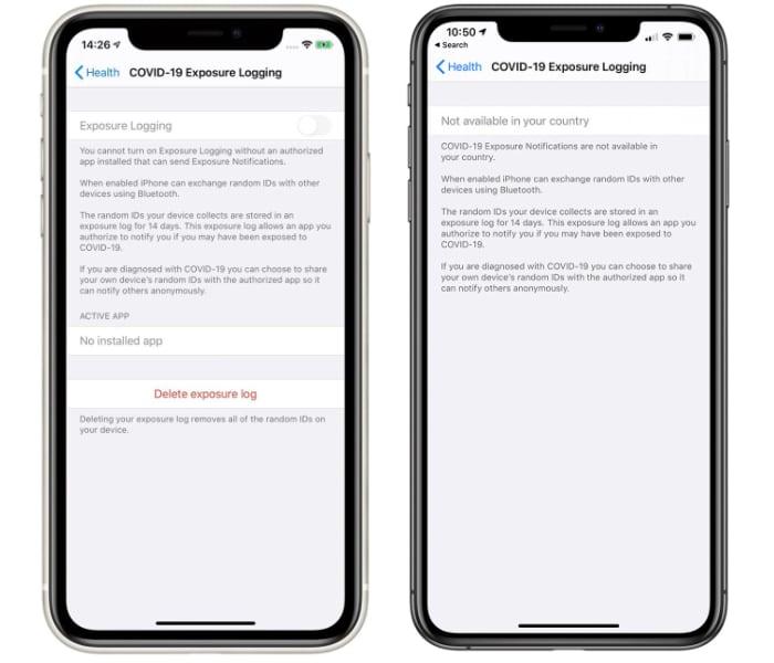 苹果发布iOS 13.5新测试版:新冠追踪曝光通知界面出现