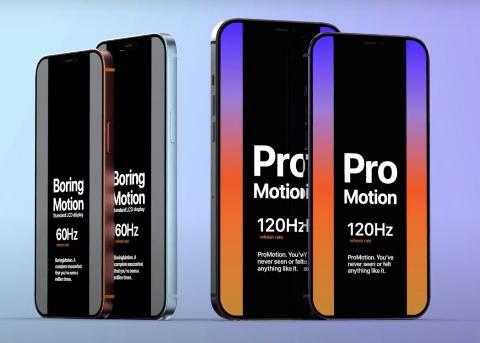 iPhone 12 Pro:120Hz 高刷屏,改进面容 ID,三倍光变