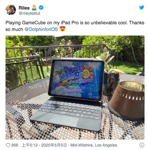 NGC game on iPad Pro