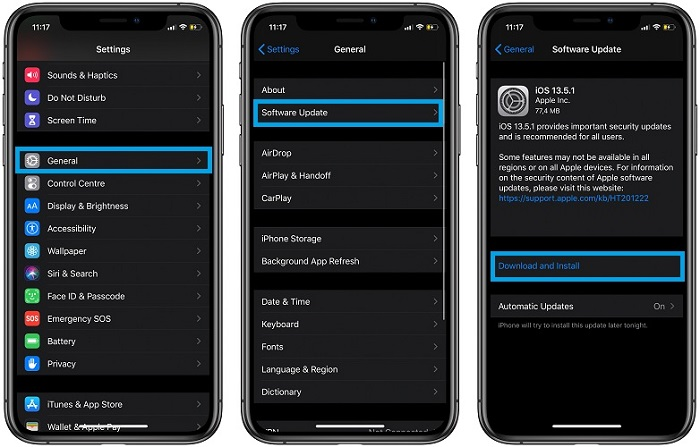 苹果发布iOS 13.5.1、iPadOS 13.5.1和watchOS 6.2.6更新