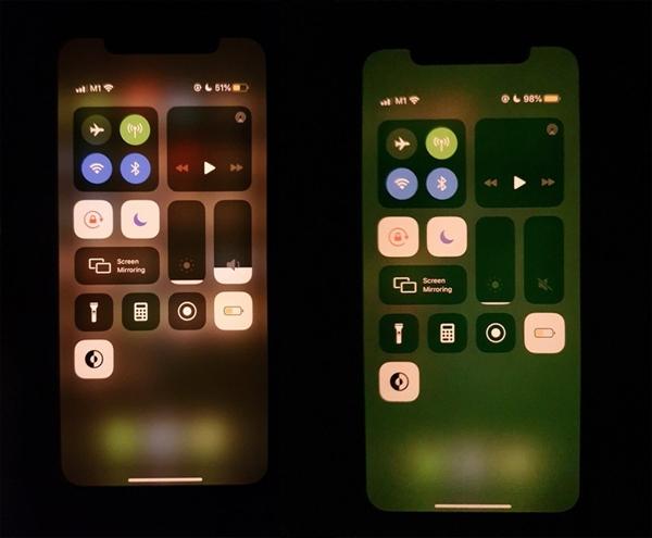 iPhone 11绿屏Bug:解锁手机后会出现几秒的绿屏问题,软件问题可修复