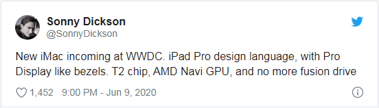 库存短缺表明苹果iMac产品线即将迎来重大更新