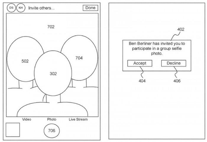 """苹果获新专利 可实现远距离""""合成集体自拍"""""""
