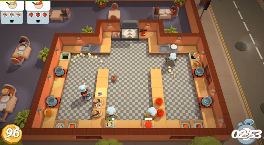 Epic Games 限免喜加一:《煮糊了》(胡闹厨房)免费领取