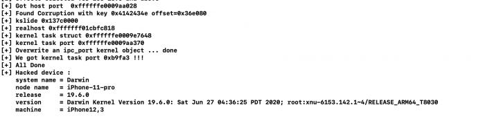 新发现的tfp0漏洞未来或可用于iOS 13.6越狱