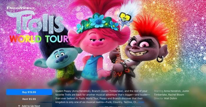 部分环球电影将在AMC影院首映17天后登陆iTunes