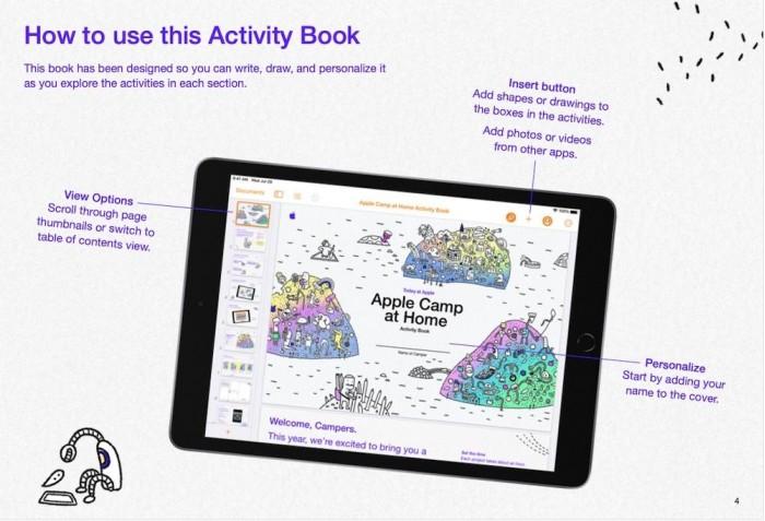 苹果夏令营居家版开放注册 为8-12岁儿童提供乐趣十足的在线课程