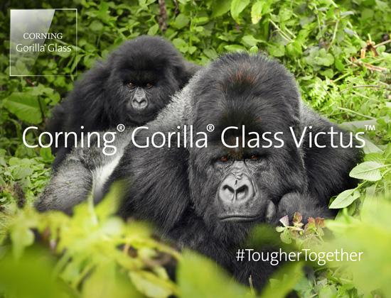 康宁发布全新大猩猩 Victus 玻璃,抗摔抗刮划