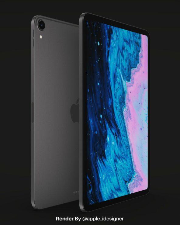 iPad Air 4概念图曝光:iPad Pro设计风格 改用USB-C接口