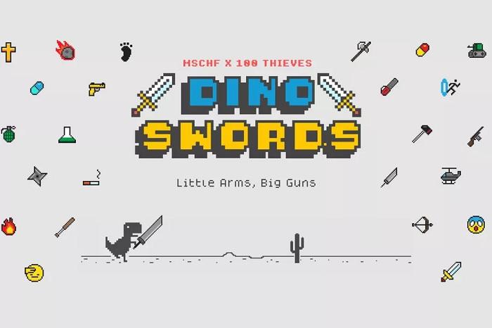 修改版《Dino Swords》小游戏:为Chrome离线霸王龙带来了一批新武器