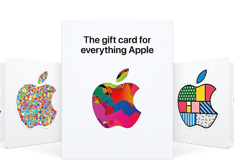 苹果推出全新礼品卡:Everything Apple,什么都能买