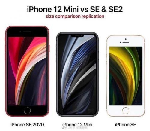 iPhone 12 Mini更多参数曝光:厚8.1mm但电池仅2227mAh