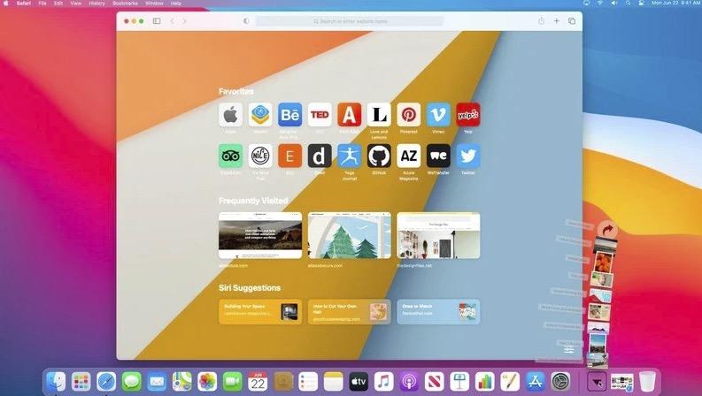 Mac 版 Safari 14 发布,macOS Big Sur 正式版也快了