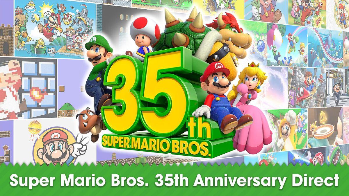 《超级马里奥兄弟》35周年:多款《超级马里奥》系列游戏即将登陆Switch