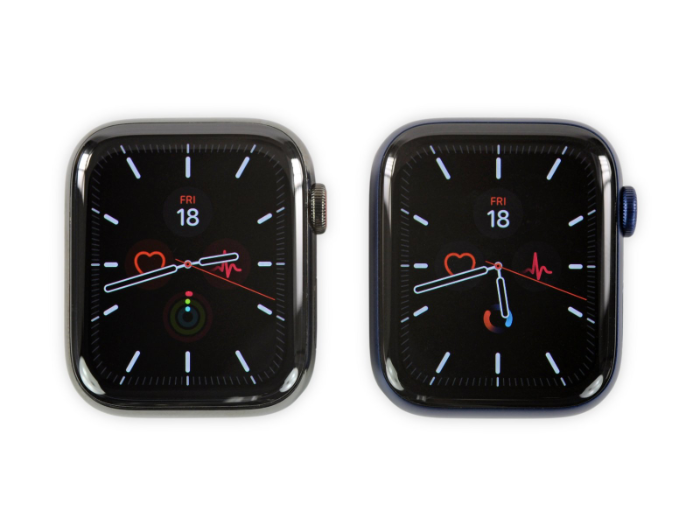 Apple Watch Series 6 拆解!电池更大、表壳更薄