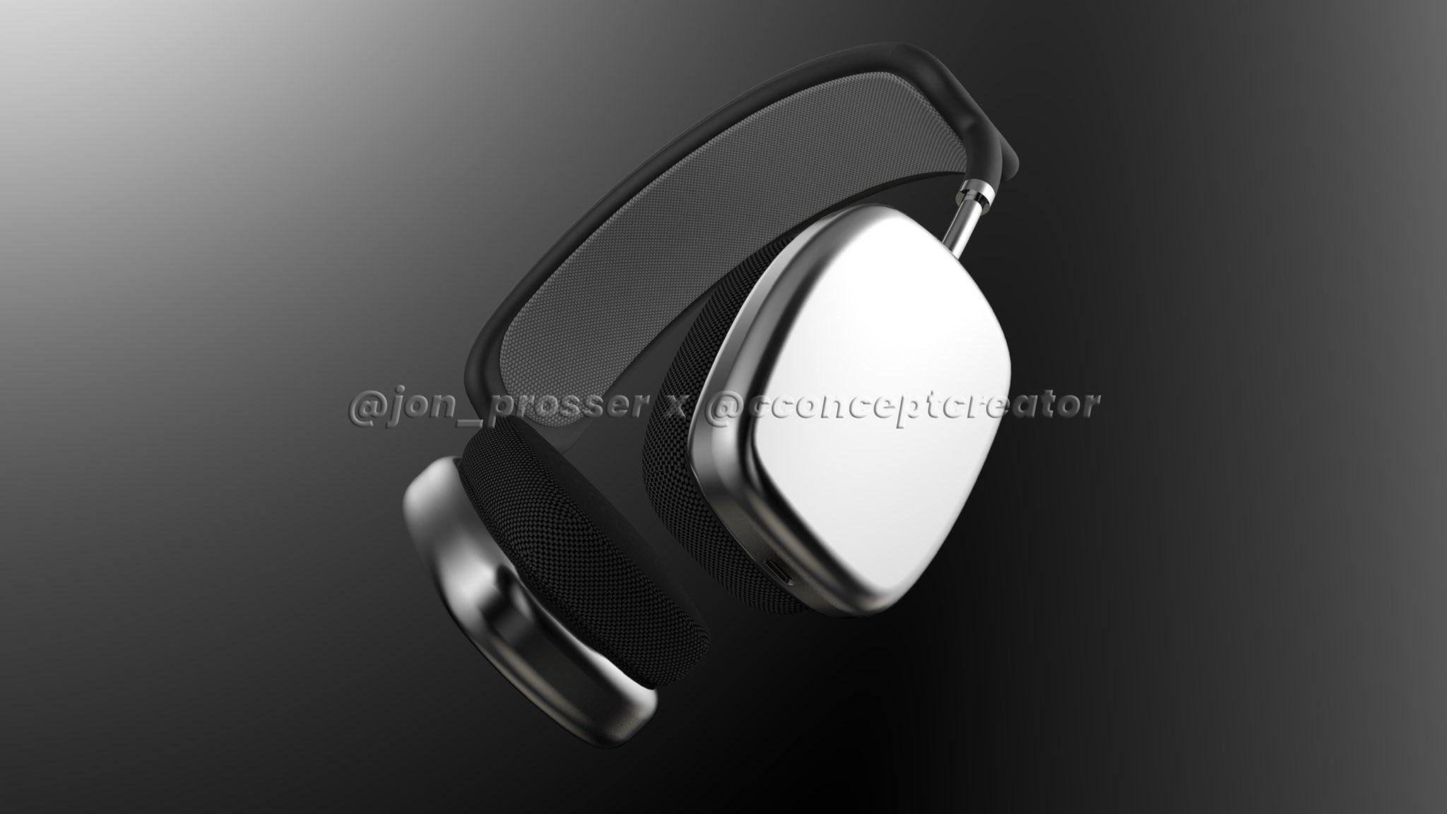 苹果头戴式降噪耳机 AirPods Studio 外形泄露
