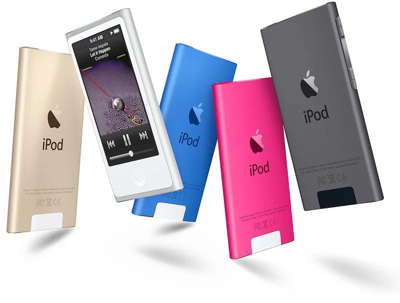 iPod 时代彻底终结,最后一代iPod nano将被标记为过时产品