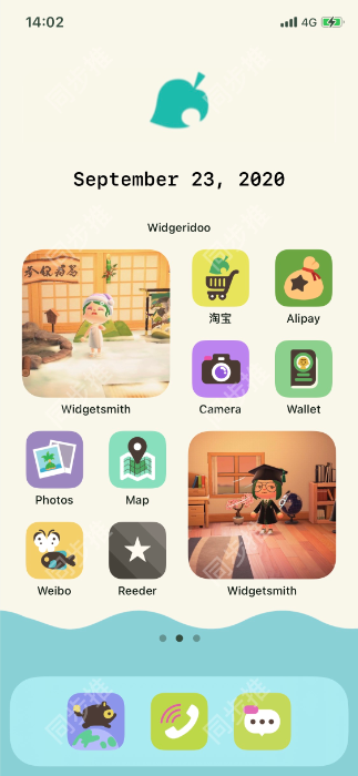 iOS 14教程:将 iPhone 变成动物森友会游戏中的 Nook 手机