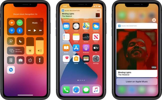 极速迭代:iOS 14.2 Beta 发布,推出全新Shazam音乐识别功能