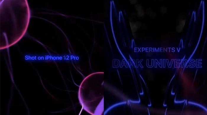 iPhone 12 Pro的暗光极限在哪里?苹果放出新Experiments视频
