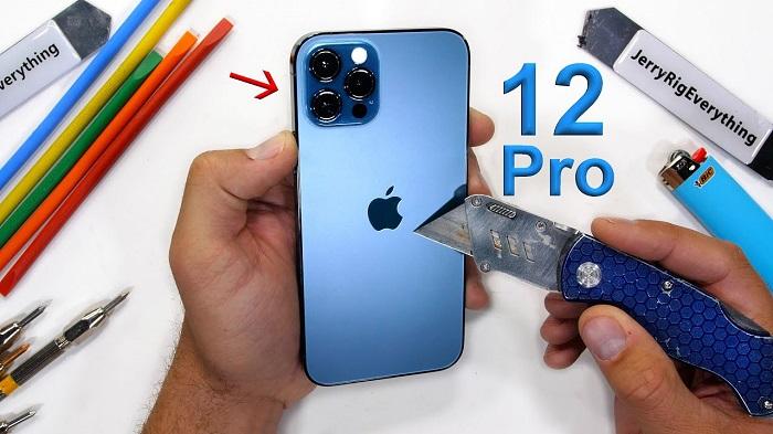 iPhone 12 Pro耐用测试:超瓷晶玻璃与不锈钢边框表现出众,但屏幕和镜头不耐划
