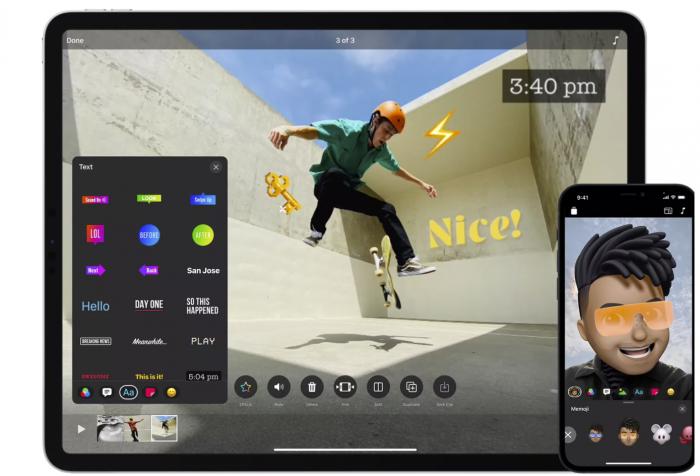 苹果的Clips应用更新至3.0,终于支持拍摄和导出垂直视频