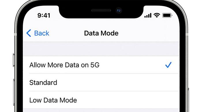 苹果预告iOS功能更新:iPhone 12将迎来三档5G数据模式