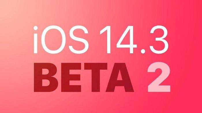 苹果向开发者和公测用户推送iOS 14.3 beta 2/iPadOS 14.3 beta 2