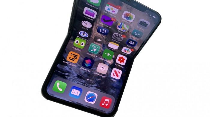 消息称苹果已将折叠式iPhone送至富士康进行测试