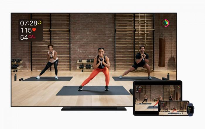 苹果Fitness+健身服务12月14日正式上线