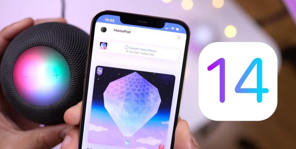 iOS 14.4新功能:HomePod mini 接力体验全新升级