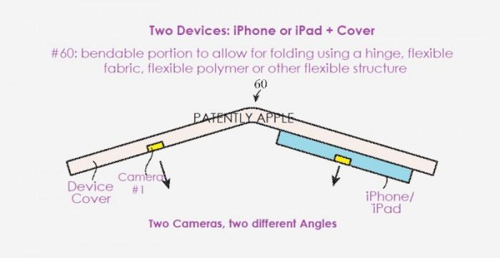 苹果新专利:计划利用可折叠手机拍摄更好的照片