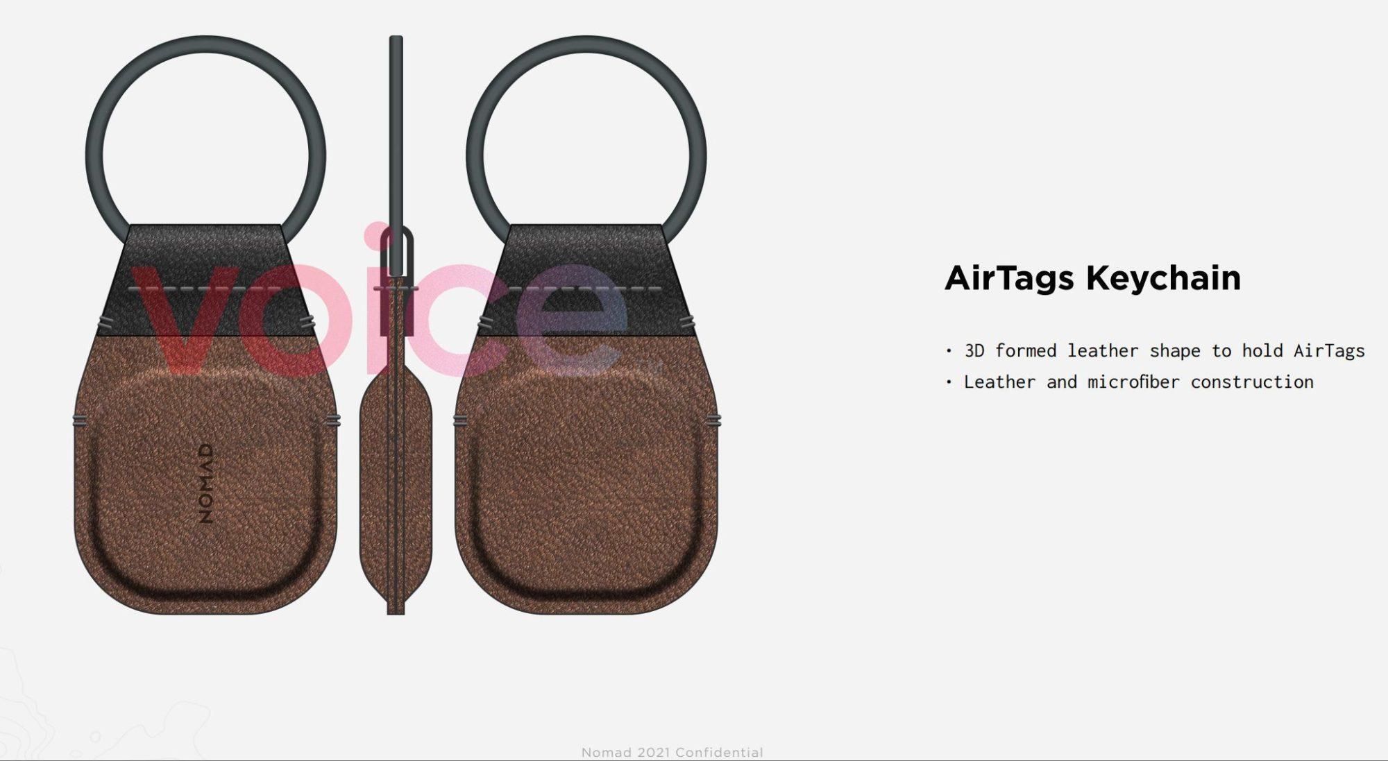 等不了了!AirTags配件偷跑了,配件厂商发布防丢钥匙链与眼镜绳