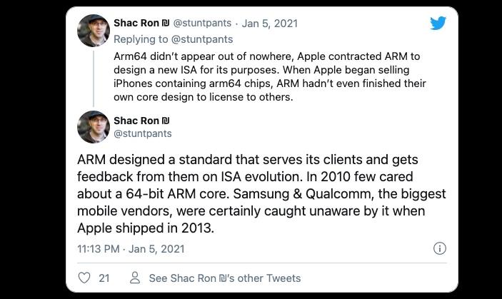 苹果经历10年布局,换来M1 Mac惊艳亮相