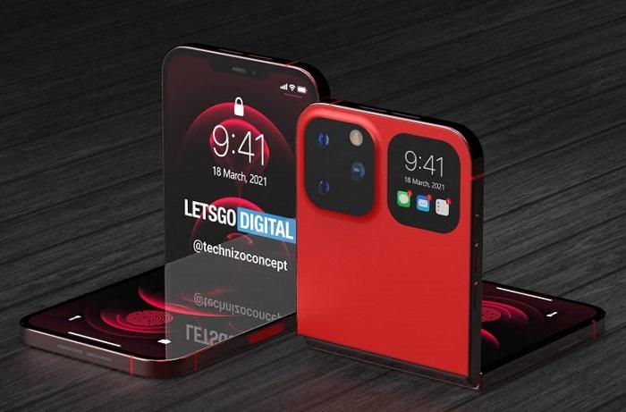 这是你想象中的折叠iPhone吗?