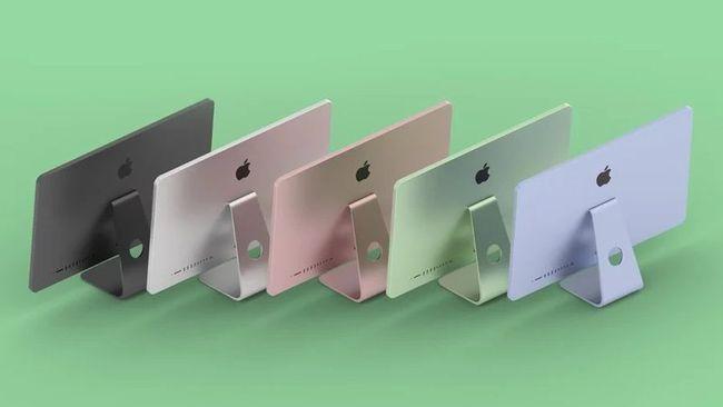 新款iMac有望4月21日亮相 全新设计,多彩配色
