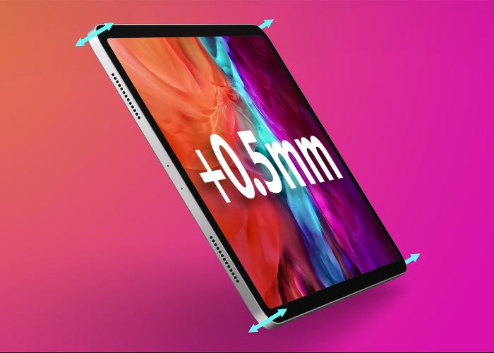 12.9 英寸 iPad Pro 厚度会增加 0.5 毫米