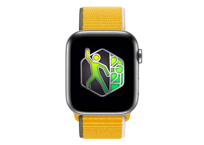 世界舞蹈日用 Apple Watch 20分钟可以获得奖章