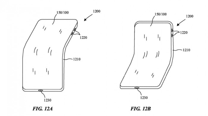 苹果可折叠iPhone新专利获批:为屏幕提供更妥善保护