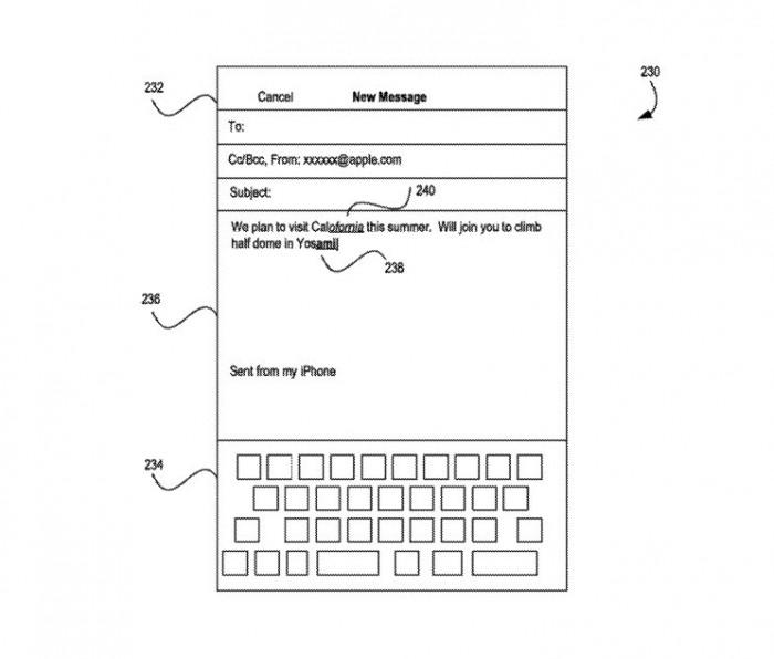 新专利显示苹果研究更快的方法来纠正打字错误