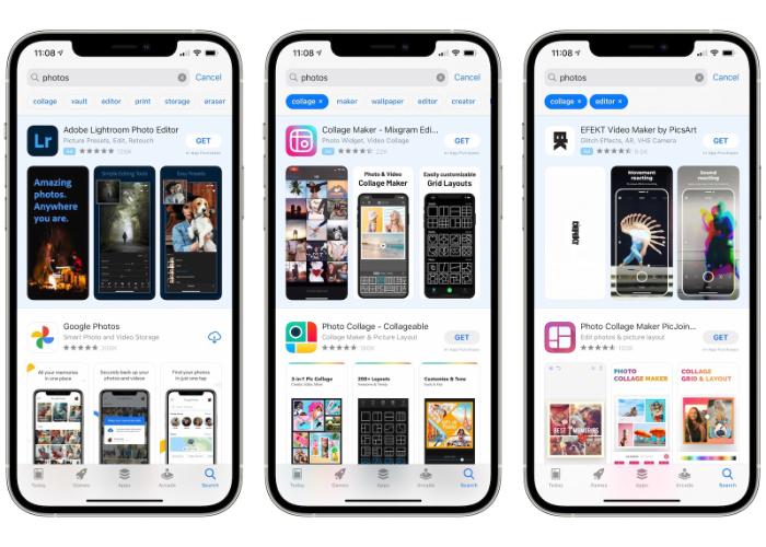 """App Store 新增""""标签""""快捷搜索功能"""