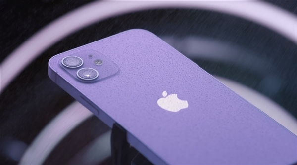 iPhone 12/12 mini紫色版今日正式发售 5499元起