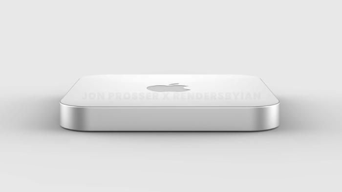下一代 Mac mini:搭载 M1X,全新超薄机身、磁力电源线