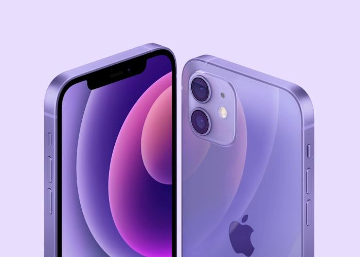 紫色 iPhone 12 已经开始使用随机序列号