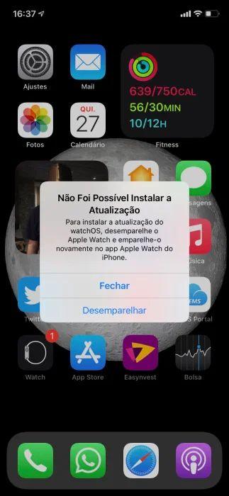 iOS 14. 6修改提示语:Apple Watch Series 3更新前需重新配对