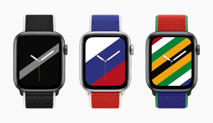 苹果发布了22个Apple Watch国家主题表带和表盘(附表盘下载方法)