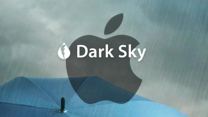 苹果对Dark Sky天气App进行第二次更新