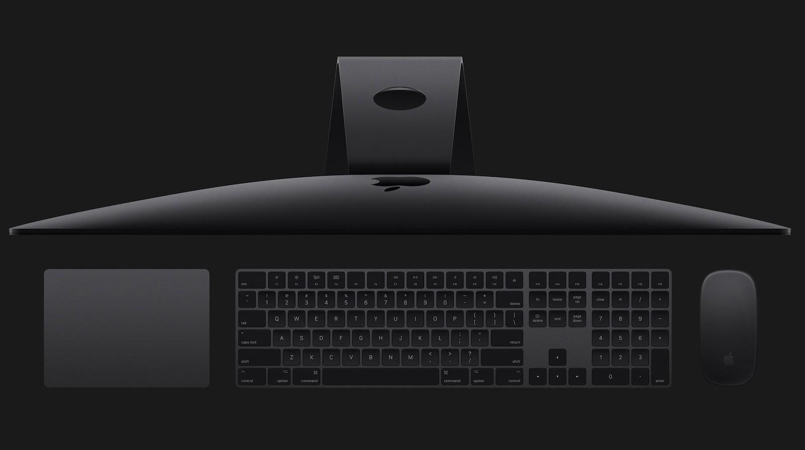 苹果停止销售深空灰 iMac Pro 妙控外设