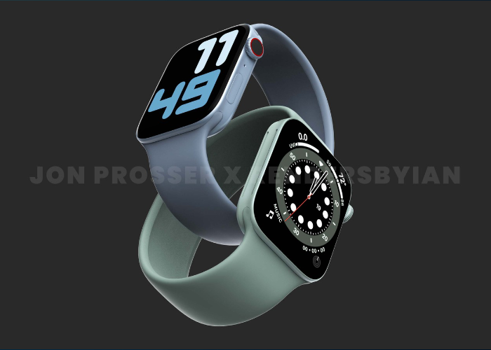 Apple Watch Series 7 将搭载尺寸更小的 S7 芯片